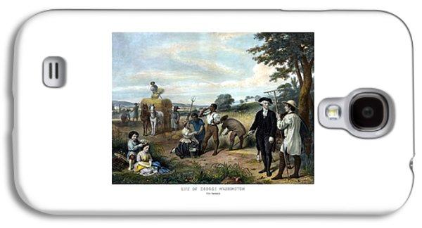 George Washington Galaxy S4 Case - George Washington The Farmer by War Is Hell Store