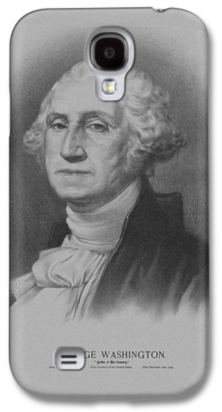 American Revolution Galaxy S4 Cases - George Washington Galaxy S4 Case by War Is Hell Store