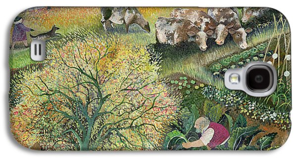 George's Allotment Galaxy S4 Case by Lisa Graa Jensen