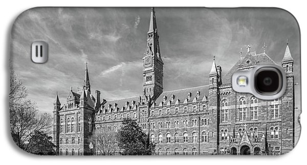 Georgetown University Healy Hall Galaxy S4 Case by University Icons