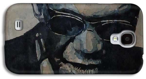 Rock And Roll Galaxy S4 Case - Georgia On My Mind - Ray Charles  by Paul Lovering