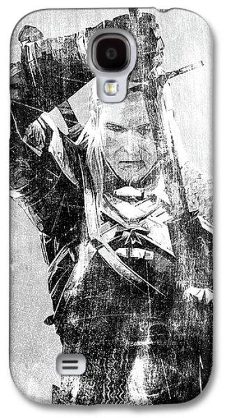 Geralt Of Rivia Galaxy S4 Case by Semih Yurdabak