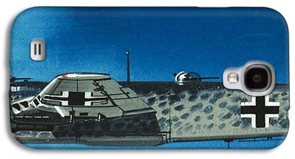 Condor Galaxy S4 Case - German Aircraft Of World War  Two Focke Wulf Condor Bomber by Wilf Hardy