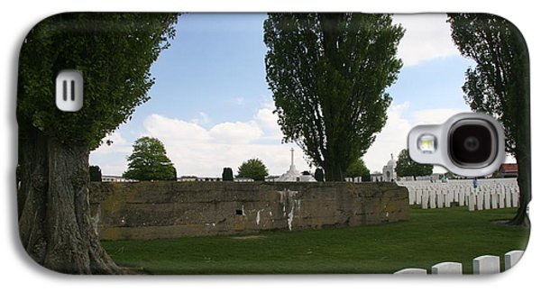 German Bunker At Tyne Cot Cemetery Galaxy S4 Case