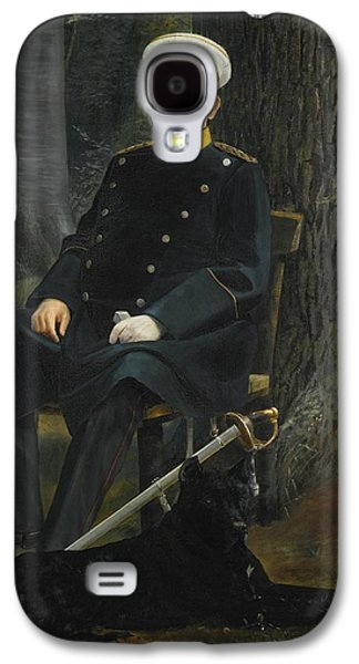 German Chancellor Otto Von Bismarck Galaxy S4 Case by MotionAge Designs