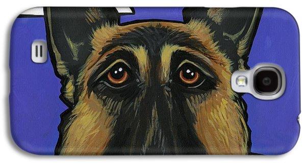 German Shepherd Galaxy S4 Case by Leanne Wilkes