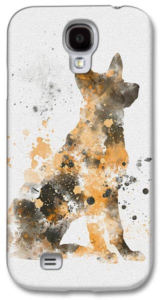 German Shepherd Galaxy S4 Case by Rebecca Jenkins