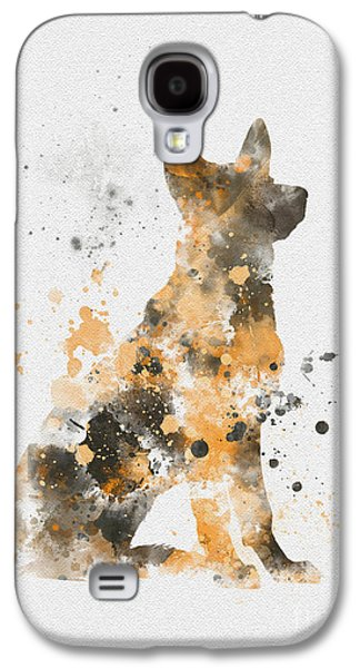 German Shepherd Galaxy S4 Case by Rebecca Jenkins