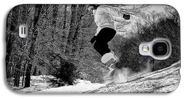 Galaxy S4 Case featuring the photograph Getting Air On The Snowboard by David Patterson
