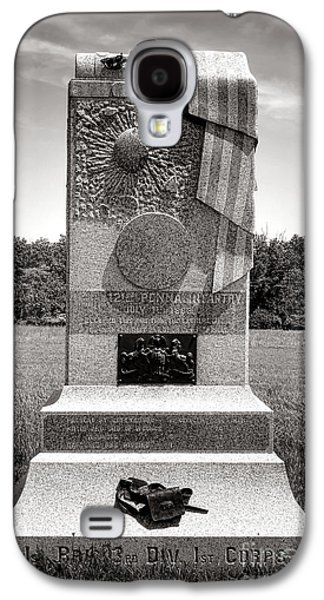 Gettysburg National Park 121st Pennsylvania Infantry Monument Galaxy S4 Case by Olivier Le Queinec