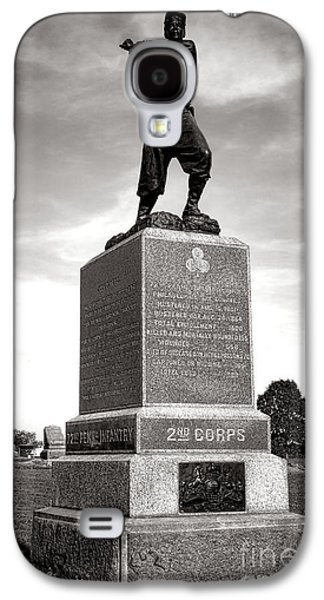 Gettysburg National Park 72nd Pennsylvania Infantry Monument Galaxy S4 Case by Olivier Le Queinec