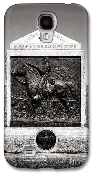 Gettysburg National Park 9th New York Cavalry Monument Galaxy S4 Case