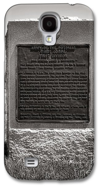 Gettysburg National Park Army Of The Potomac First Division Monument Galaxy S4 Case by Olivier Le Queinec