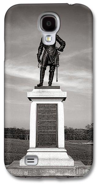 Gettysburg National Park Brigadier General Alexander Webb Monument Galaxy S4 Case by Olivier Le Queinec