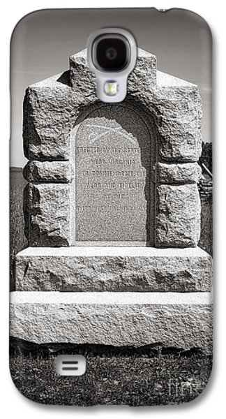 Gettysburg National Park Third West Virginia Cavalry Monument Galaxy S4 Case by Olivier Le Queinec