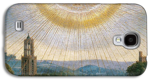 Ghent Altarpiece Detail Of The Holy Spirit Galaxy S4 Case by Van Eyck