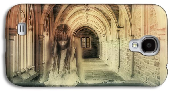 Ghost Of The Abbey Galaxy S4 Case by Georgiana Romanovna