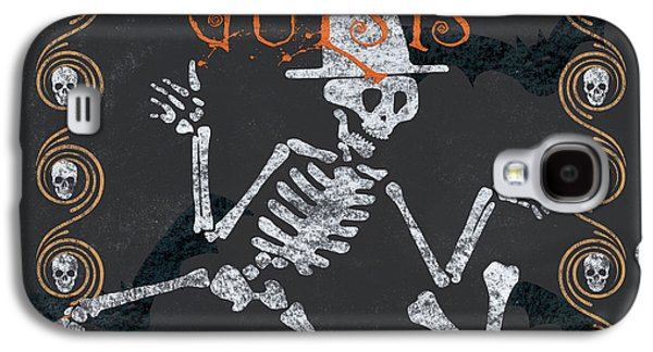 Ghoulish Guests Welcome Galaxy S4 Case by Debbie DeWitt