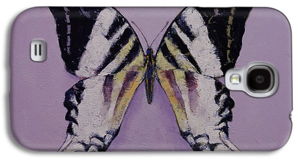Giant Swordtail Butterfly Galaxy S4 Case by Michael Creese