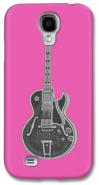 Gibson Es-175 Electric Guitar Tee Galaxy S4 Case by Edward Fielding