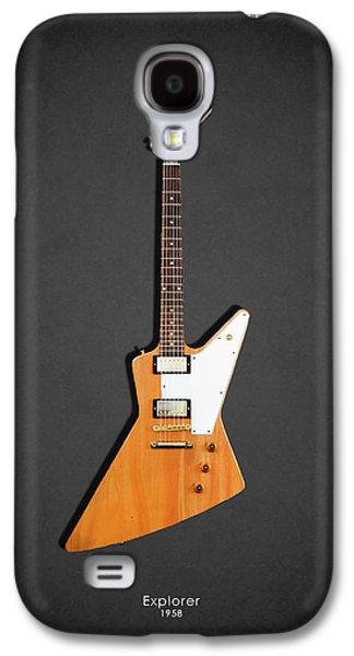 Guitar Galaxy S4 Case - Gibson Explorer 1958 by Mark Rogan
