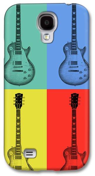 Gibson Guitar Pop Art Galaxy S4 Case