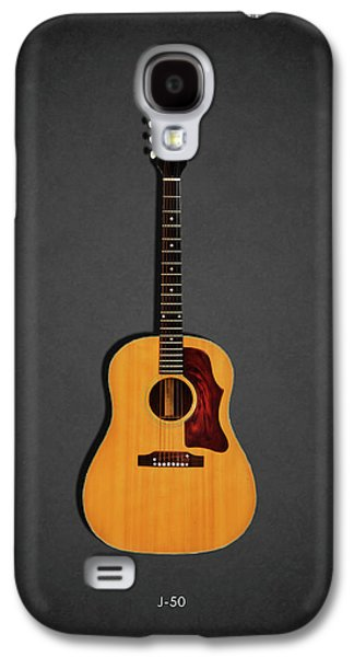 Jazz Galaxy S4 Case - Gibson J-50 1967 by Mark Rogan