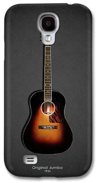 Guitar Galaxy S4 Case - Gibson Original Jumbo 1934 by Mark Rogan