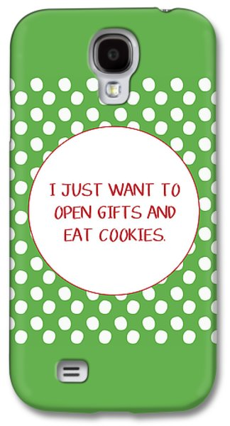 Gifts And Cookies- Art By Linda Woods Galaxy S4 Case