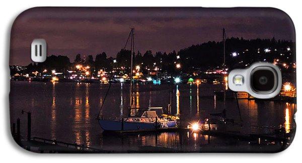 Gig Harbor At Night Galaxy S4 Case