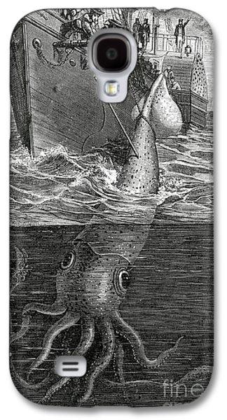 Gigantic Cuttle Fish Galaxy S4 Case