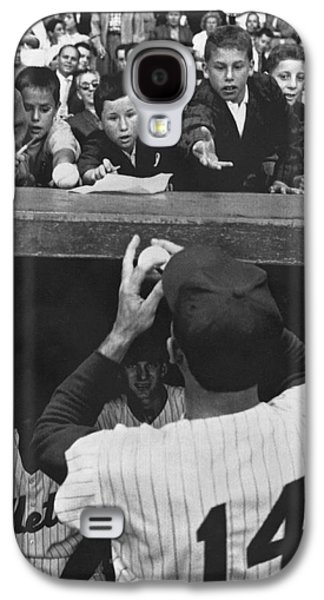 Gil Hodges Baseball Fans Galaxy S4 Case by Underwood Archives