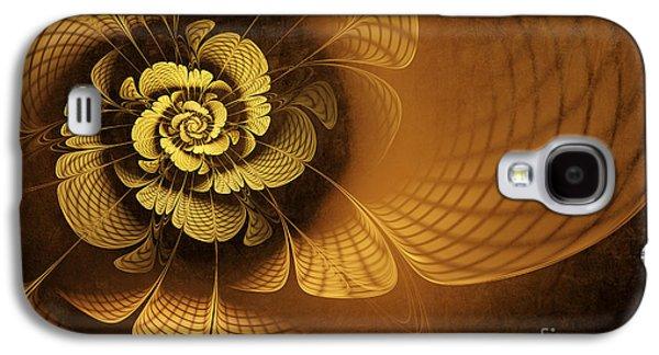Gilded Flower Galaxy S4 Case by John Edwards