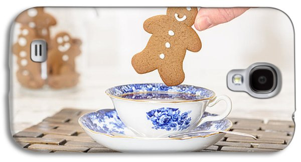 Gingerbread In Teacup Galaxy S4 Case