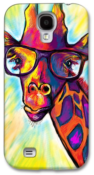 Giraffe Galaxy S4 Case by Julianne Black
