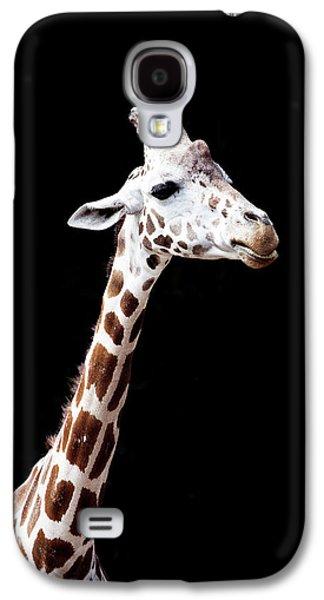 Giraffe Galaxy S4 Case by Lauren Mancke
