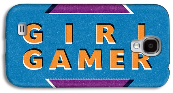 Girl Gamer Galaxy S4 Case by Linda Woods