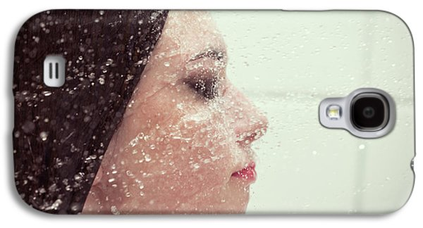 Girl In Splash Galaxy S4 Case by Aleksey Tugolukov