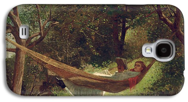 Girl In The Hammock Galaxy S4 Case