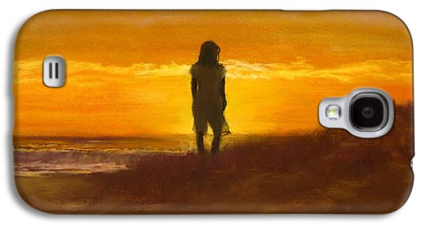 Girl On The Dunes Galaxy S4 Case by Jack Skinner