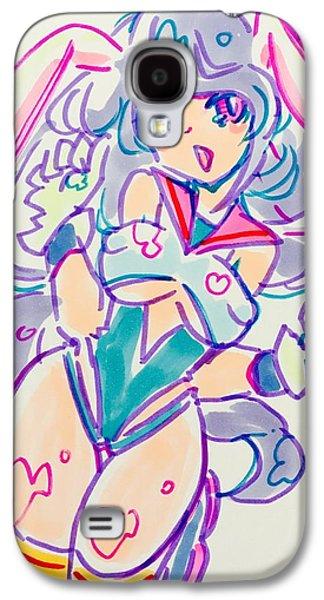 Girl02 Galaxy S4 Case