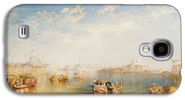 Boat Galaxy S4 Case - Giudecca La Donna Della Salute And San Giorgio  by Joseph Mallord William Turner