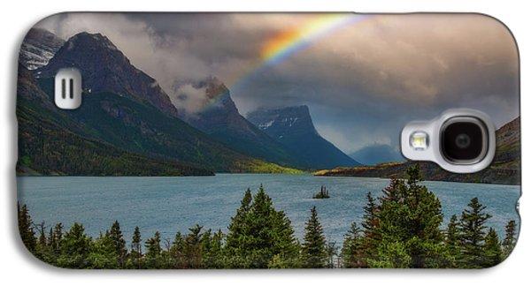 Glacier Rainbow Galaxy S4 Case by Darren White