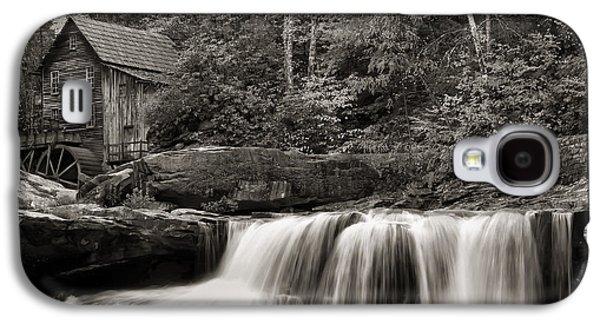 Glade Creek Grist Mill Monochrome Galaxy S4 Case