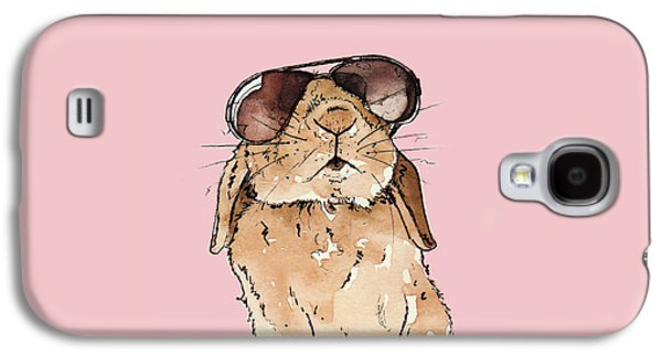 Rabbit Galaxy S4 Case - Glamorous Rabbit by Katrina Davis
