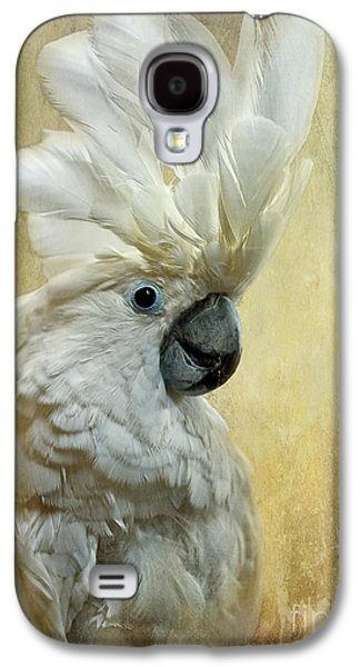 Cockatoo Galaxy S4 Case - Glamour Girl by Lois Bryan