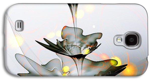 Glass Flower Galaxy S4 Case by Anastasiya Malakhova