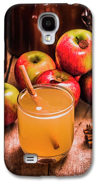 Glass Of Fresh Apple Cider Galaxy S4 Case by Jorgo Photography - Wall Art Gallery