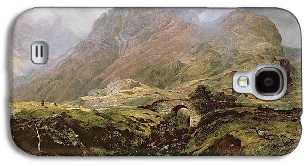Scotland Galaxy S4 Case - Glencoe by Horatio McCulloch