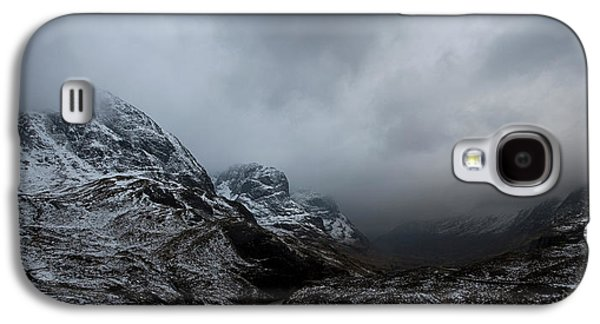 Glencoe - Three Sisters Galaxy S4 Case by Pat Speirs